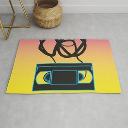 80's problems: VHS Rug