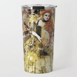 Madonna della Verde Watercolour Travel Mug