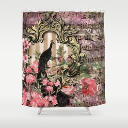 Feather Peacock 21 Shower Curtain