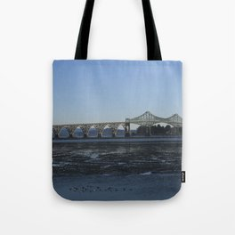 Yaquina Bay Bridge, OR  Tote Bag