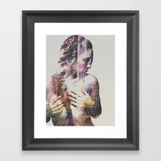 Wilderness Heart III Framed Art Print
