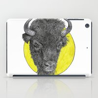 bison iPad Cases featuring Bison by Triple_S_Art