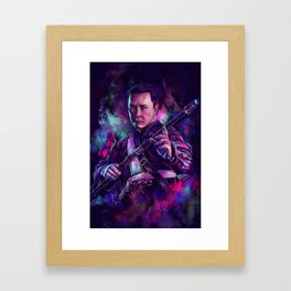 One with the Force Framed Art Print