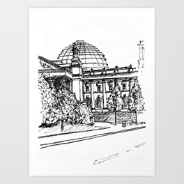 Berlin Reichstag Art Print