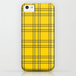 Clueless Plaid iPhone Case