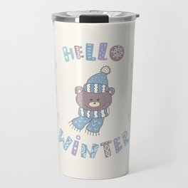 Winter Days Travel Mug