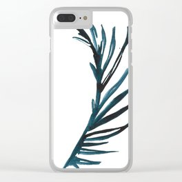 PALM NO.009 Clear iPhone Case