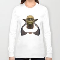 yoda Long Sleeve T-shirts featuring Yoda by lazylaves