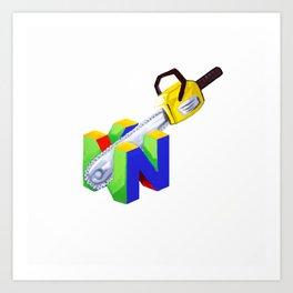 Stupid logo Art Print