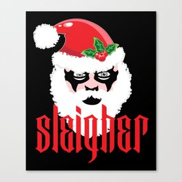 Sleigher | Christmas Xmas Parody Canvas Print