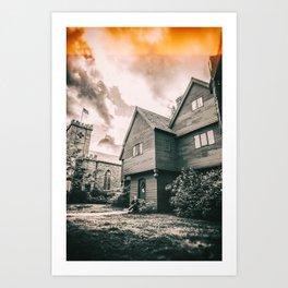 Roger Corwin House - The Witch House - Salem MA Art Print