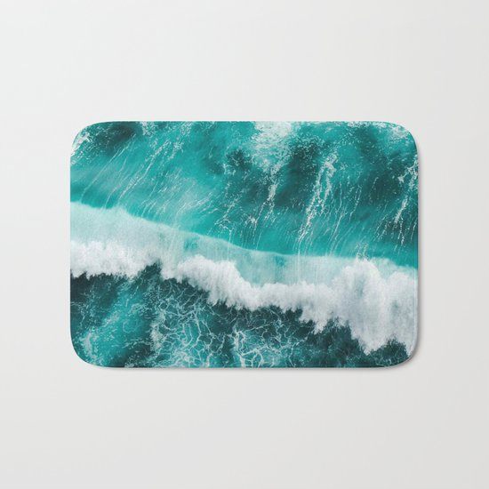 BEAUTIFUL WAVES Bath Mat