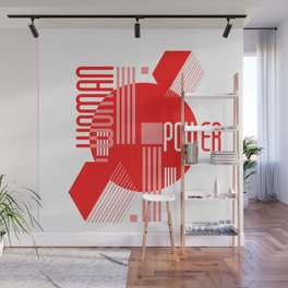 Woman feminist geometric Wall Mural