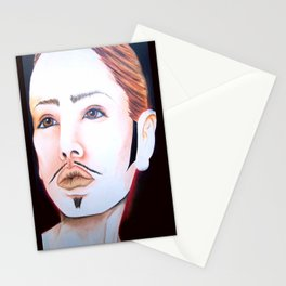 drag king Stationery Cards