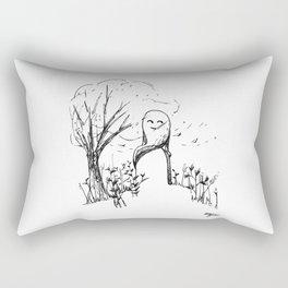 A Windy Day Rectangular Pillow
