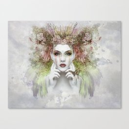 Woman in the Jungle Canvas Print