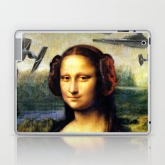 Mona Lisa versus the Empire Laptop & iPad Skin