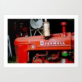 Farmall Art Print