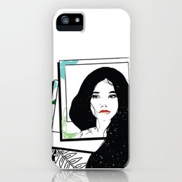 Images of yesterday iPhone Case