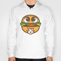 pagan Hoodies featuring Pagan Burger by Pagan Holladay