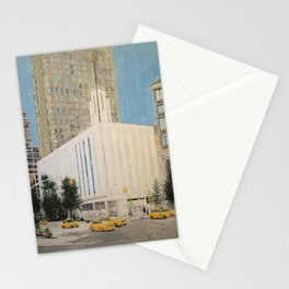 Manhattan New York LDS Temple Stationery Cards