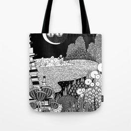 Botanical Doodle 3/3 Tote Bag