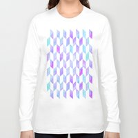 geo Long Sleeve T-shirts featuring Geo by Courtney McFarland