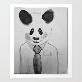 Panda Interview  Art Print