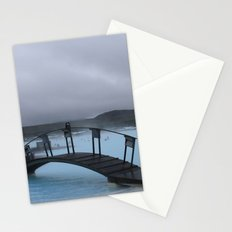 Iced Blue Stationery Cards