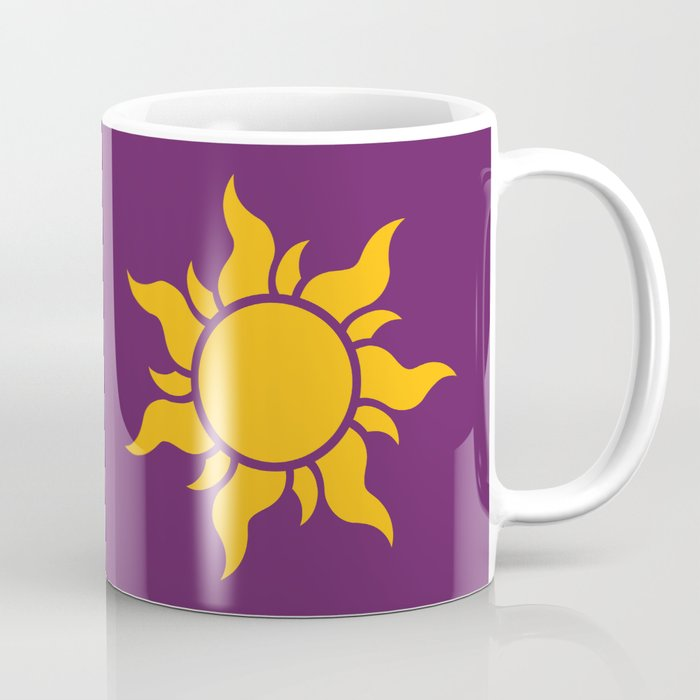 Tangled Rapunzel Sun Logo Corona Symbol Coffee Mug By Teohoble Society6