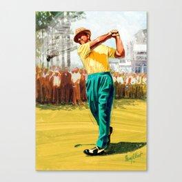 Slam'n Sammy Snead Canvas Print