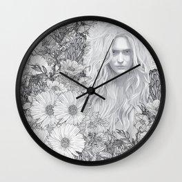 Natural Gates Wall Clock