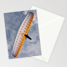 Sunlit Paraglider Stationery Cards