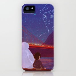 You're in the night sky now, Tadashi iPhone Case