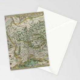 Vintage Map - Ortelius: Theatrum Orbis Terrarum (1606) - Ancient Germany Stationery Cards