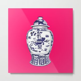 GINGER JAR PILLOW Metal Print
