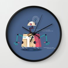 :::Mini Robot-Vrahion::: Wall Clock