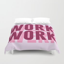 Work, Werk Duvet Cover