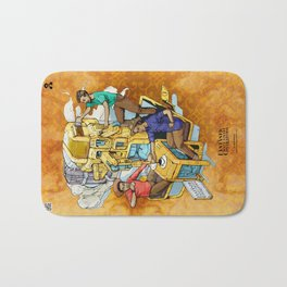 The Fantastic Craft Coffee Contraption Suite - The Fantastic Craft Coffee Contraption Bath Mat