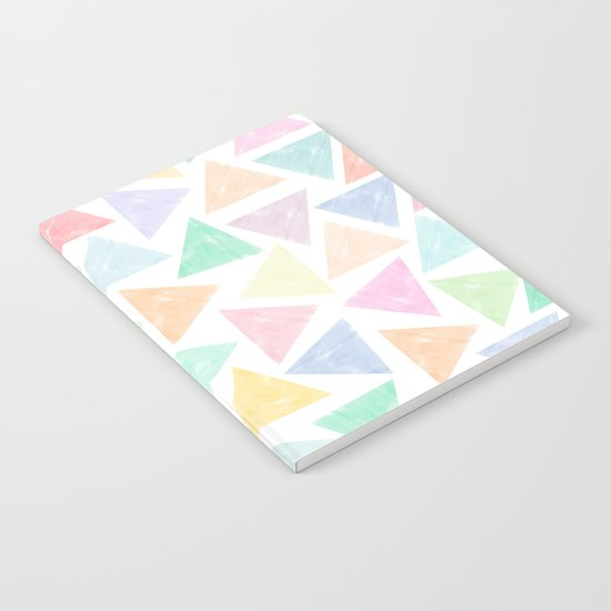 Colorful Geometric Patterns Notebook