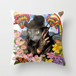 Nightmare Camp Throw Pillow