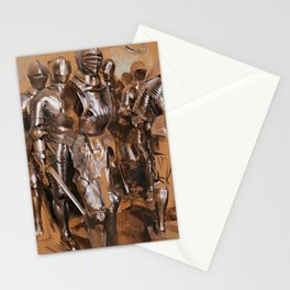 Adolph von Menzel - Armor Chamber Fantasy (1866) Stationery Cards