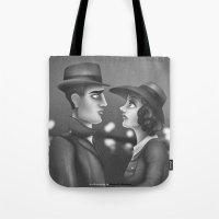 casablanca Tote Bags featuring Casablanca by Matias G. Martinez