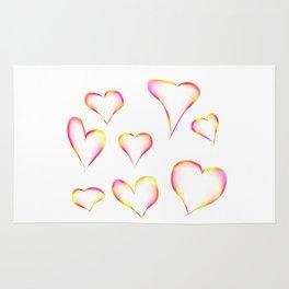 Hearts Rug