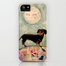 Hank the amazing Doxie iPhone Case