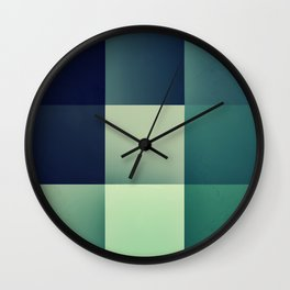 :: geometric maze XI :: Wall Clock