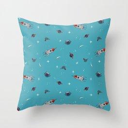Spaceman. Throw Pillow