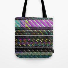 Glitch Nature Tote Bag