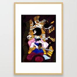 Year of the Brave Framed Art Print