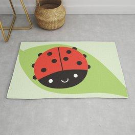 Kawaii Ladybird Rug